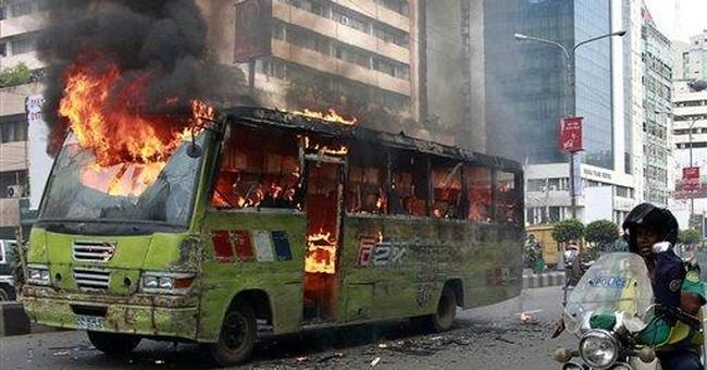 Blasts, arrests during Bangladesh strike