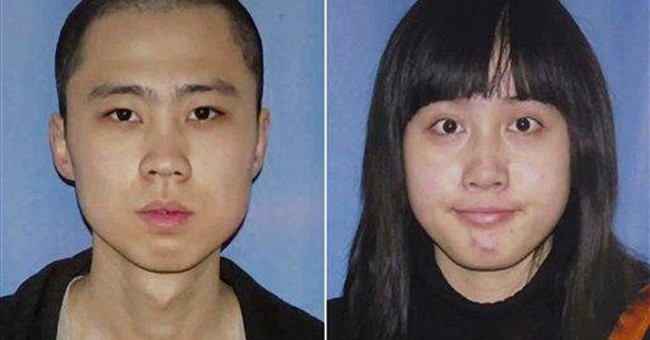 LA police arrest 2 in killings of Chinese students