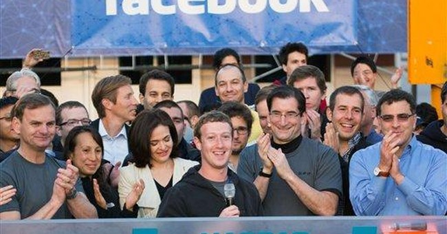 Where are Facebook's friends? Stock down after IPO