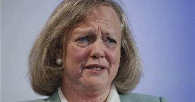 Major decisions under new HP CEO Meg Whitman