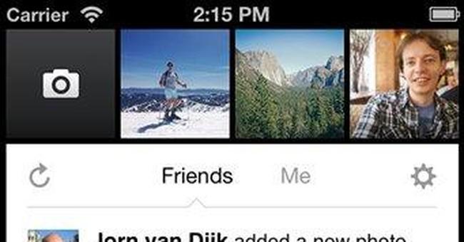 Facebook launches iPhone camera app