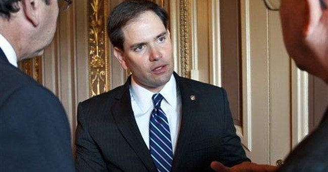 GOP's Rubio plans to sell books in swing states