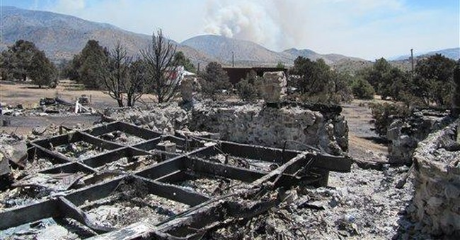 Authorities think illegal burn sparked Nevada fire