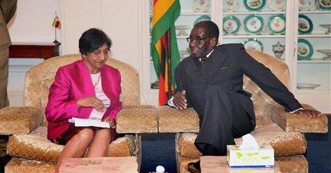 Zimbabwe's president dismisses gay rights