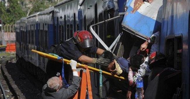 Argentina drops train operator after deadly crash