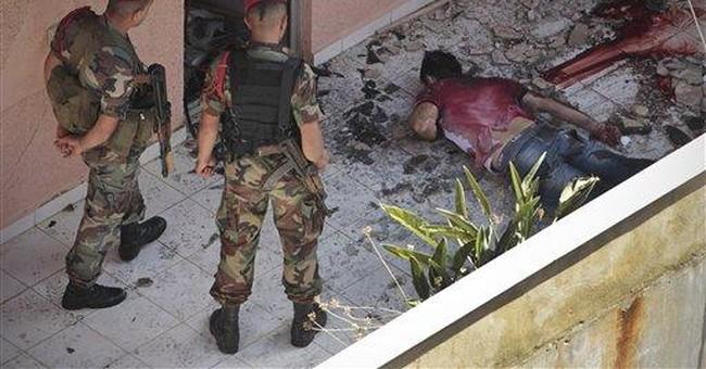 Explosive standoff in Beirut kills 2