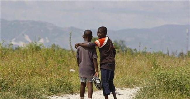 Investors plan soccer stadium for Haiti shantytown