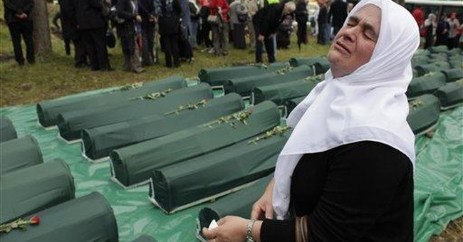 Funeral held for Muslim Bosniaks killed long ago