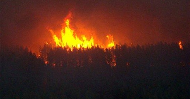 Light rain, more aircraft aid Mich. wildfire fight