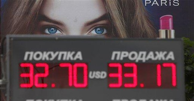 Russian ruble hits lowest in over 3 years