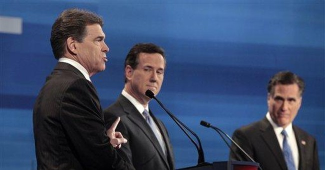 Perry defends states' rights