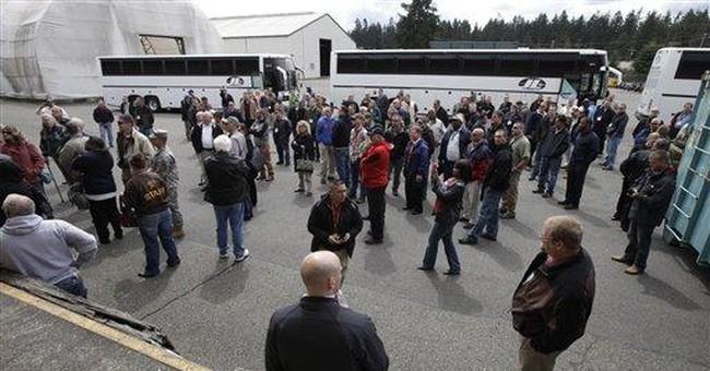 APNewsBreak: Pentagon halts free guns for police