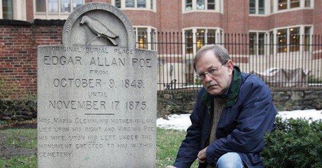 Poe fans holding last vigil for mysterious visitor