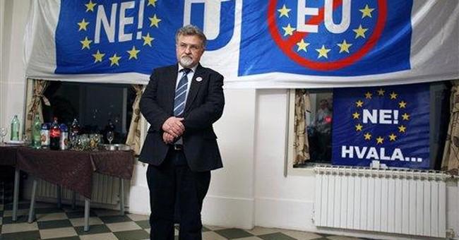 Croatia says 'yes' to EU membership