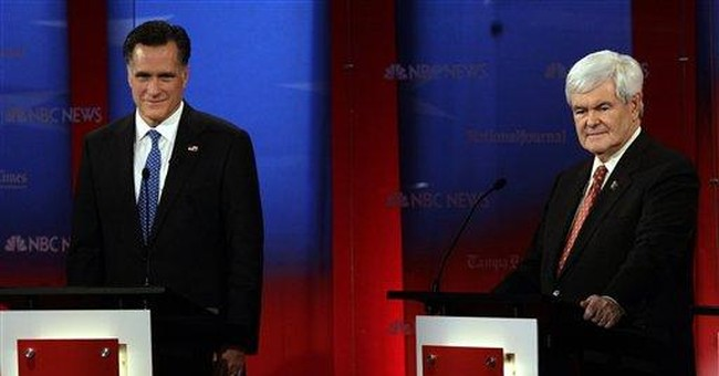 FACT CHECK: Gingrich flubs history in GOP debate
