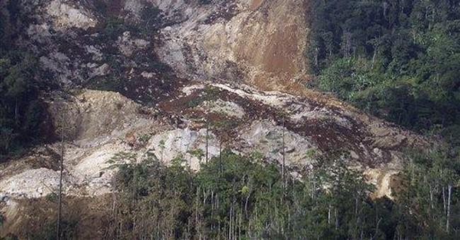 4 dead after landslide hits Papua New Guinea
