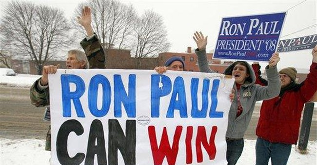 Paul braves snowy Maine in hunt for GOP delegates