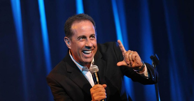 Jerry Seinfeld reaches out to victims of Sandy
