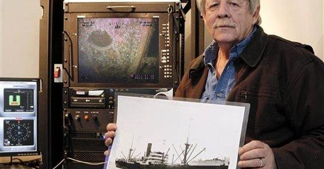 Treasure hunter says he found $3B WWII wreck