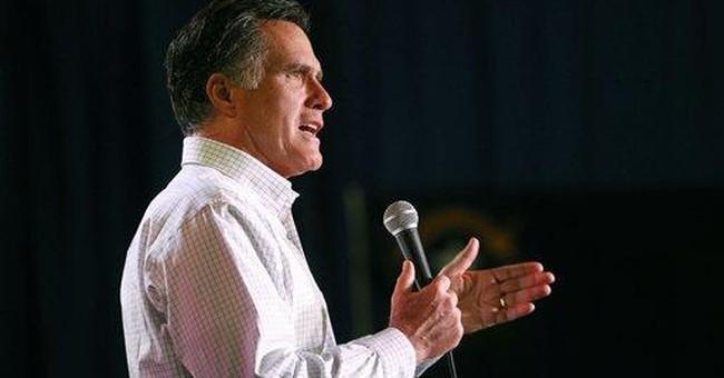 Romney emphasizes patriotism - a lot