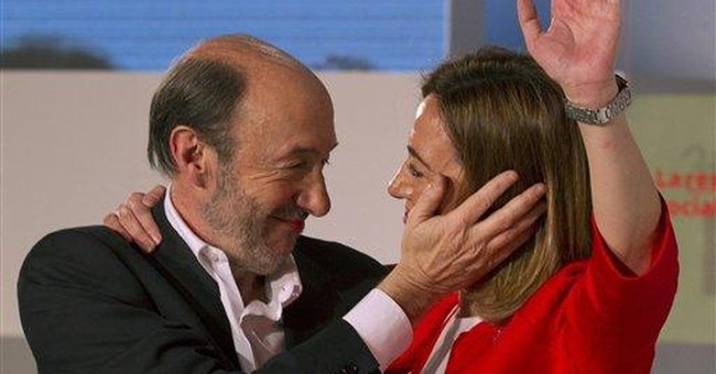 Spain's Socialists elect Rubalcaba leader