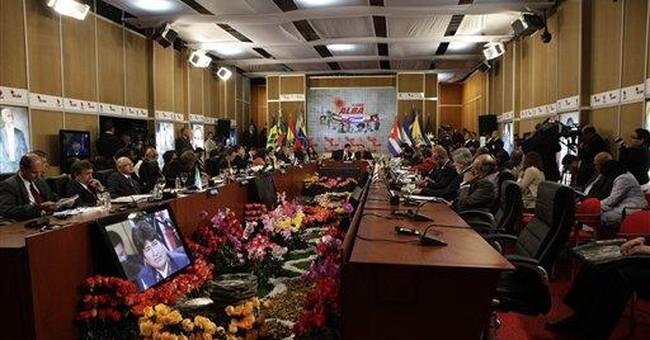 Chavez and allies back Argentina on Falklands