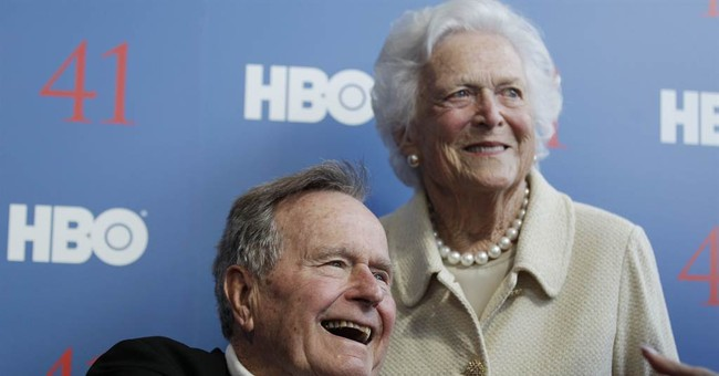 Ex-President Bush to spend Christmas in hospital
