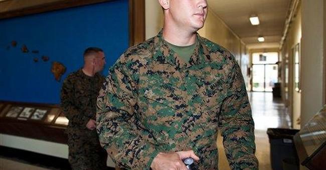 Marine sergeant accused of hazing goes to trial