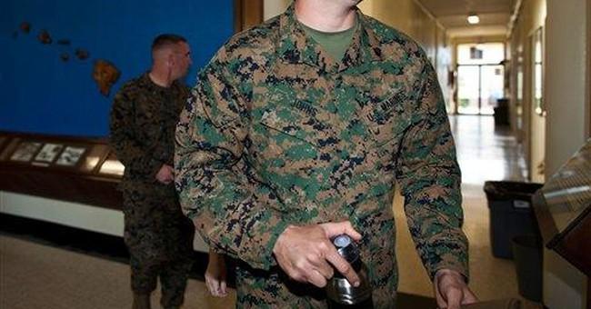 Marine sergeant not guilty in hazing case