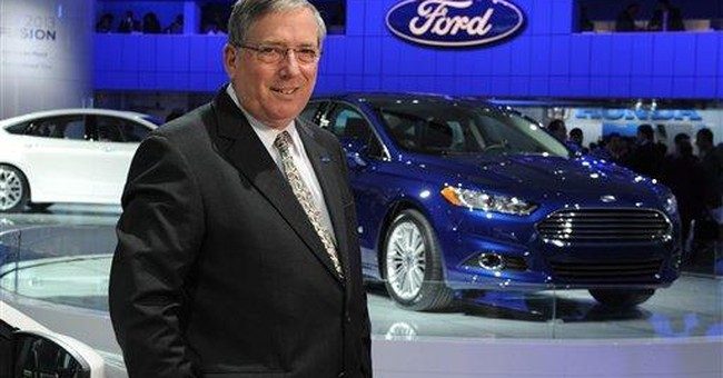 2 Key Ford leaders to retire, Mulally to stay on