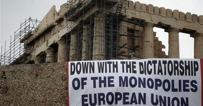 Greece's grim choice: deep budget cuts or default