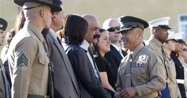 Marine honored for Afghanistan counterattack
