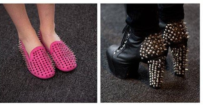 Hitting a fashion show? Crazy heels required