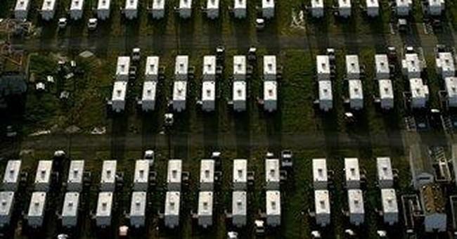 Last Katrina FEMA trailer leaves New Orleans