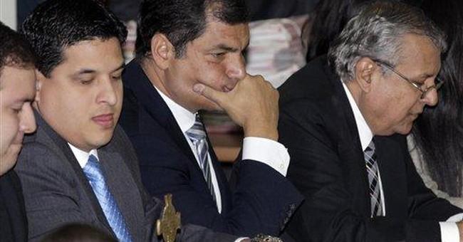 Ecuador court upholds pro-Correa libel verdict