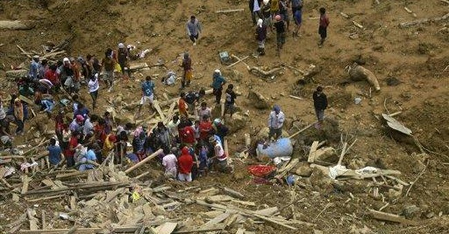 Rescue work resumes in Philippine landslide