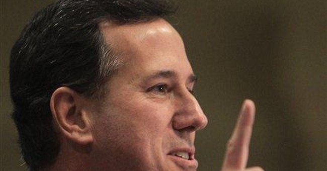 Obama campaign adviser says Santorum crossed line