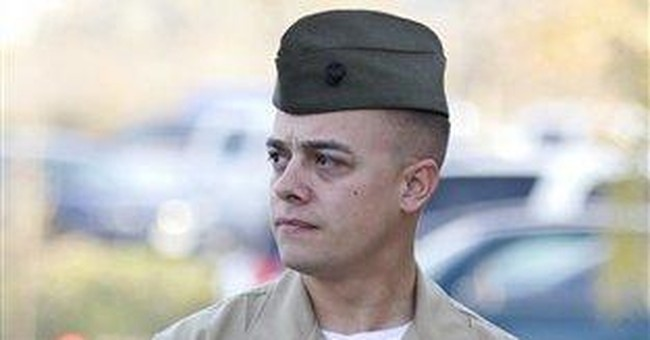 Marine convicted in Iraq killings leaves service