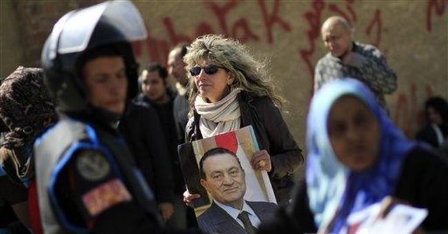 In memo to court, Egypt's Mubarak claims innocence