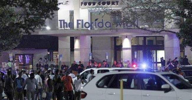 Riot cops break up Nike shoe crowd at Fla. mall
