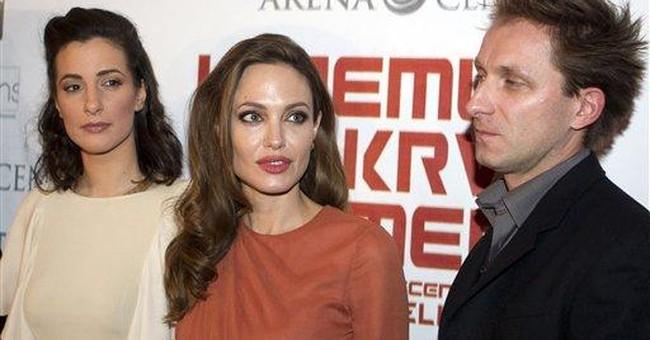 Serbs shun Jolie's directorial debut
