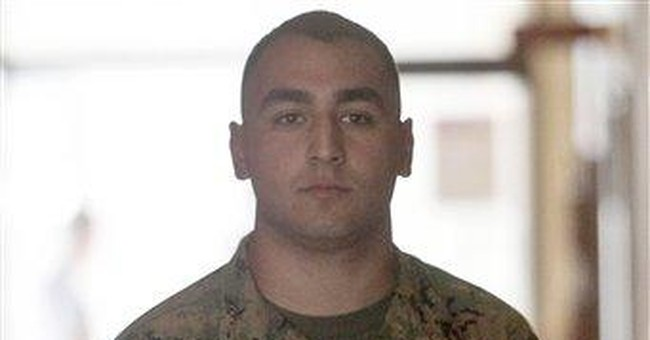 Marine found not guilty in hazing trial