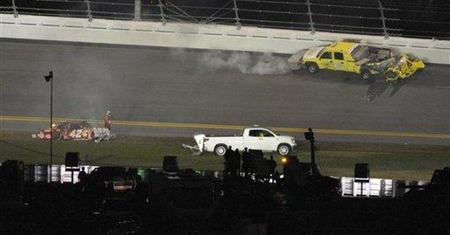 Matt Kenseth wins Daytona 500 after fire and rain