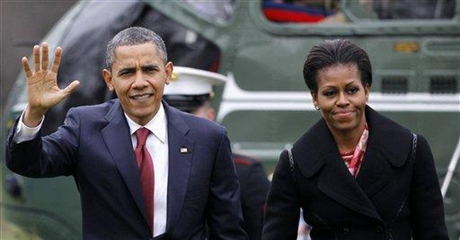 Mrs Obama: Some give her 'angry black woman' image
