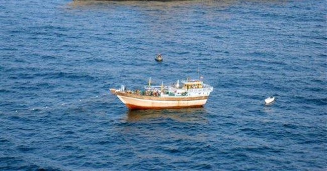US Navy rescues Iranian fishing boat from pirates