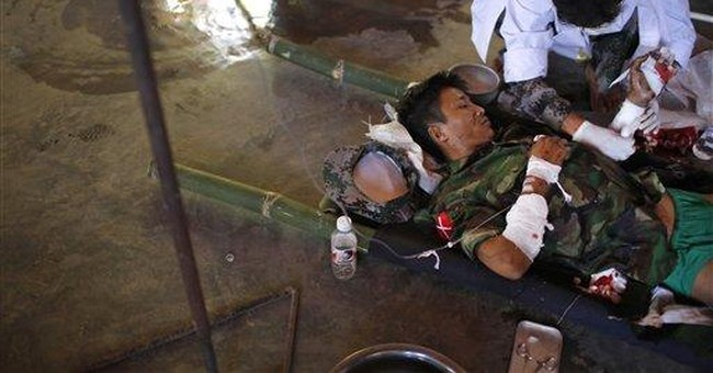 As Myanmar thaws, decades-old civil war festers on