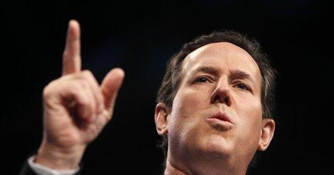 Santorum wins anew on Super Tuesday