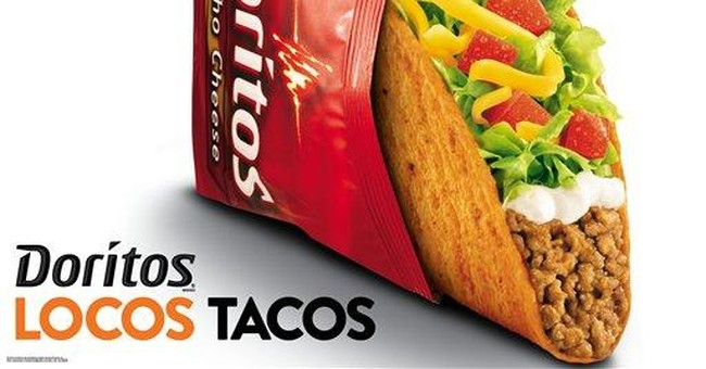 Taco Bell introduces Doritos taco shell