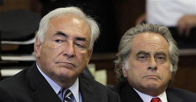 Students in Britain protest Strauss-Kahn speech