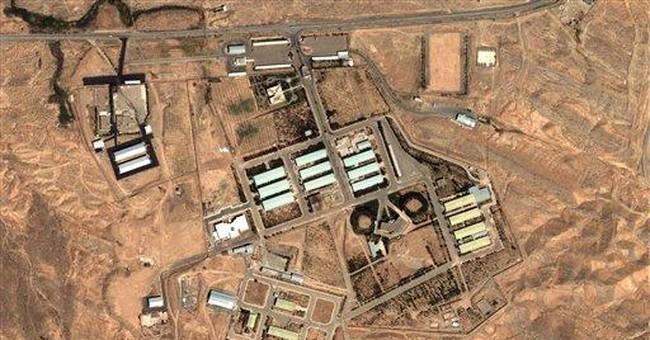 Israeli premier will not allow Iran nuclear bombs